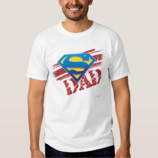 Super Dad Stripes Tee Shirt