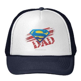 Super Dad Stripes Trucker Hat