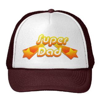 Super Dad Yellow Trucker Hat