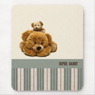 Super Daddy. Father's Day Gift Mousepads