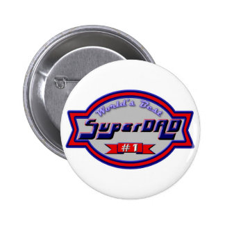 Super Dads for the Family 2 Inch Round Button