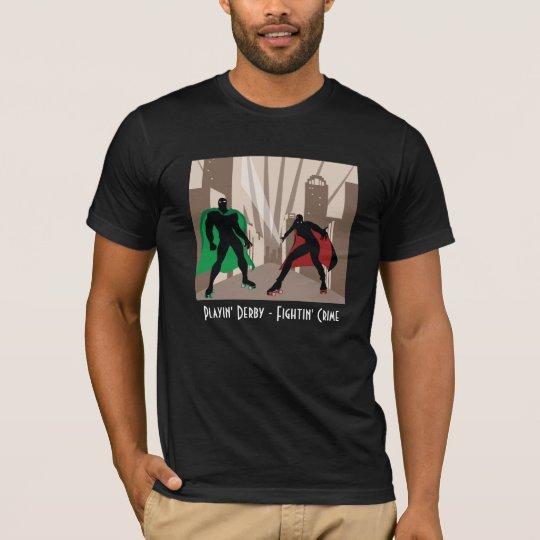 Super Dark Deco Derby T-Shirt