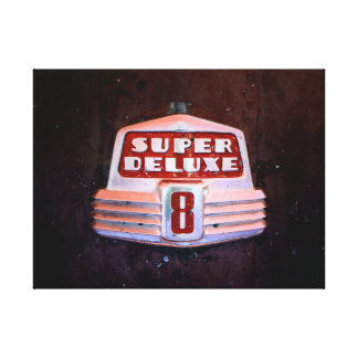 Super Deluxe in Red Canvas Print