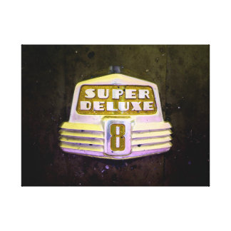 Super Deluxe in Yellow Canvas Print