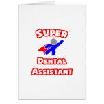 Super Dental Assistant Card