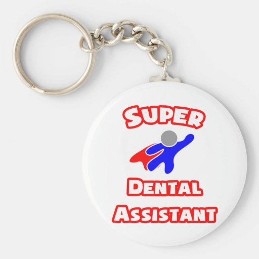 Super Dental Assistant Key Chain
