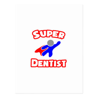 Super Dentist Postcard