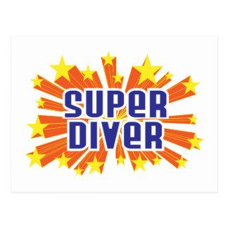 Super Diver Postcard