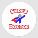 Super Doctor Stickers