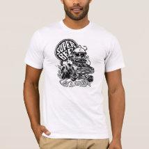 Super Dodge Vintage Bee Comic B&W Gore Drift T-Shirt