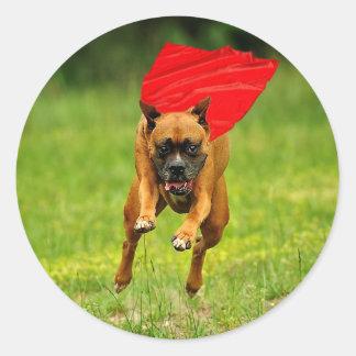 Super Dog! Classic Round Sticker