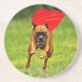 Super Dog! Drink Coasters