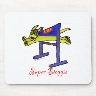 Super Doggie Jump Mouse Pad