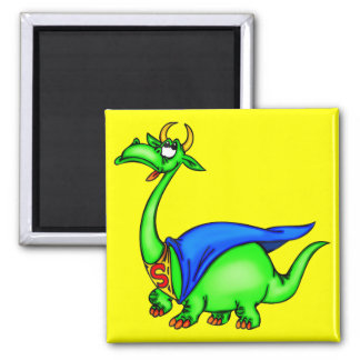 Super Dragon Refrigerator Magnet