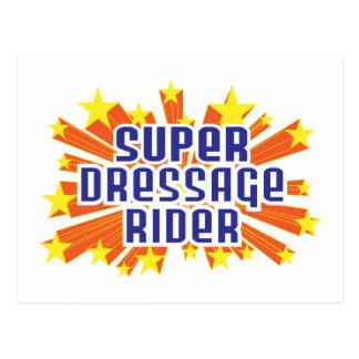 Super Dressage Rider Post Cards