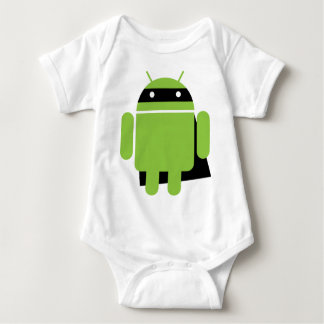 Super Droid Baby Bodysuit