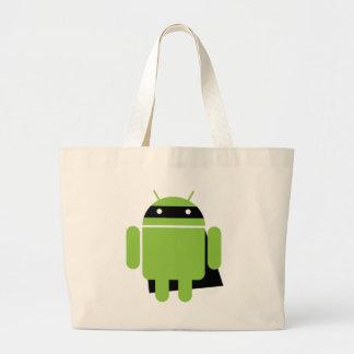 Super Droid Large Tote Bag