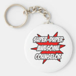 Super Duper Awesome Counselor Key Chain