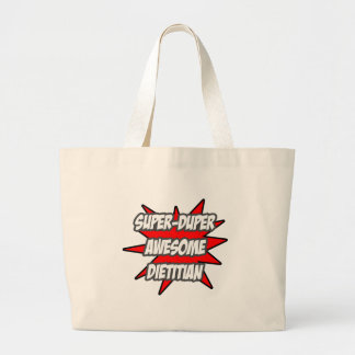 Super Duper Awesome Dietitian Jumbo Tote Bag