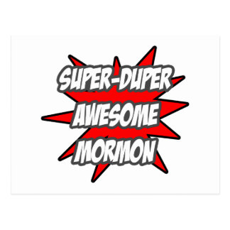 Super Duper Awesome Mormon Post Cards