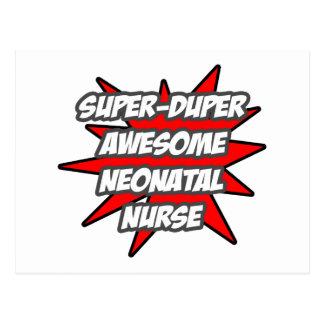 Super Duper Awesome Neonatal Nurse Postcard