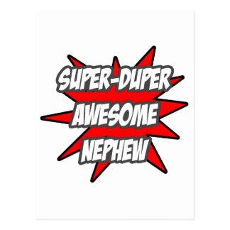 Super Duper Awesome Nephew Postcard