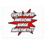 Super Duper Awesome Nurse Anesthetist Postcard