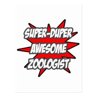 Super Duper Awesome Zoologist Post Cards