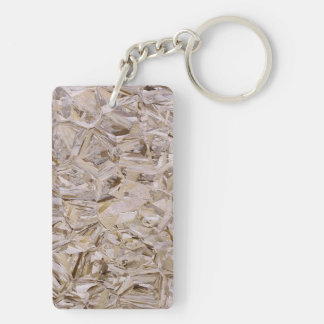 Super Duper Cool OSB Construction Plywood Print Acrylic Key Chains