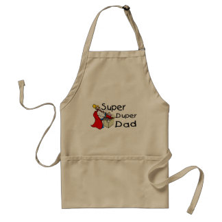 Super Duper Dad (1) Adult Apron
