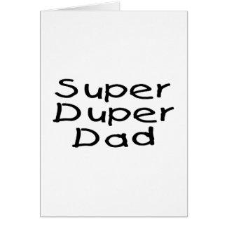 Super Duper Dad 2 Card