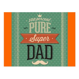 Super Duper Dad Postcard