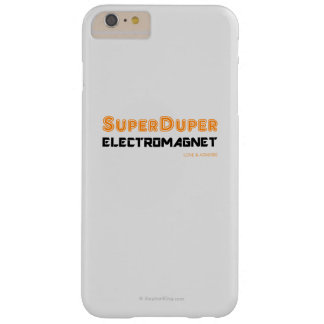 Super Duper Electromagnet Barely There iPhone 6 Plus Case