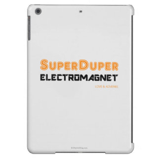 Super Duper Electromagnet iPad Air Covers