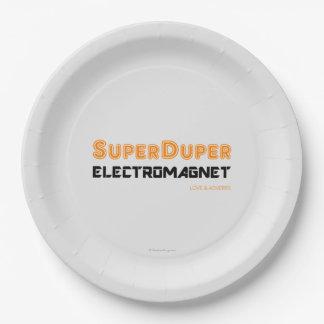 Super Duper Electromagnet Paper Plate