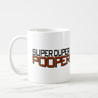 Super Duper Pooper Coffee Mug