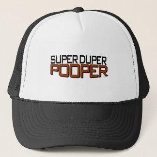 Super Duper Pooper Trucker Hat
