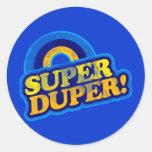 Super Duper! Sticker