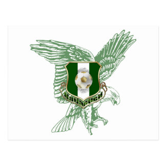 Super Eagles faded Eagle Naija soccer gifts Postcard