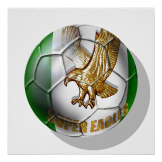 Super Eagles Logo football fans gifts Poster