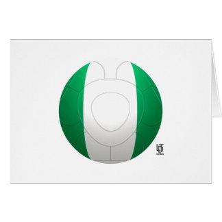 Super Eagles - Nigeria Football Card