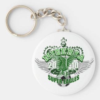 Super Eagles Nigeria football gifts & soccer gear Basic Round Button Keychain