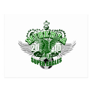 Super Eagles Nigeria football gifts & soccer gear Postcard