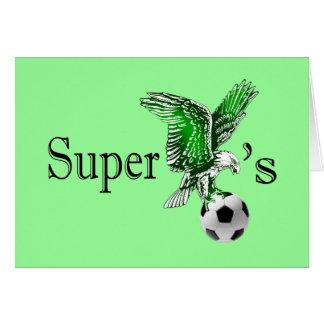 Super Eagles super cool Naija Eagles logo Card
