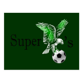 Super Eagles super cool Naija Eagles logo Postcard