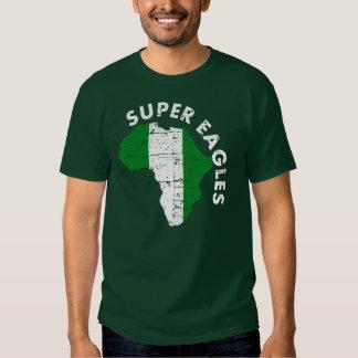 Super Eahles Nigeria Tees