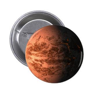 Super Earth Gliese 876 D Terrestrial Planet Pin