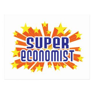 Super Economist Postcard