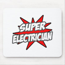 Super Electrician Mouse Pad