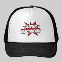 Super Electrician Trucker Hat